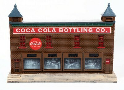Classic Metal Works Traxside 1950-60's Era Bottling  Plant (Coca Cola) 1:87 HO Scale