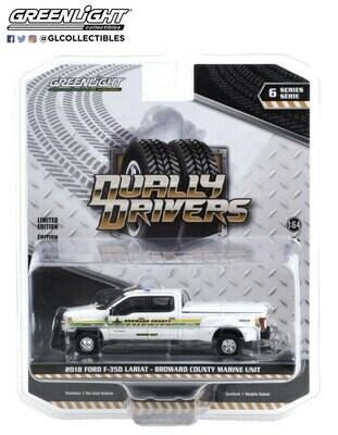 Greenlight - 2018 Ford F-350 Dually - Broward County, FL Sheriff Truck