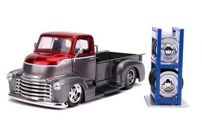 Jada Just Trucks - 1952 Chevy Coe Pickup (Red/Gray)