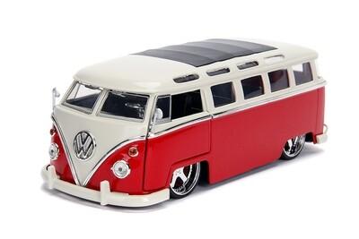 Jada Toys Bigtime Kustoms - Volkswagen Bus (1962, 1/24 scale diecast model car