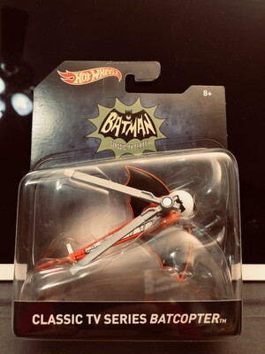 Mattel Hot Wheels - Batman Premium 1:50 scale diecast model. TV Series Batcopter