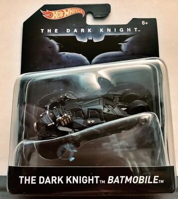 Mattel Hot Wheels - Batman Premium 1:50 scale diecast model. TV Series The Dark Knight Batmobile