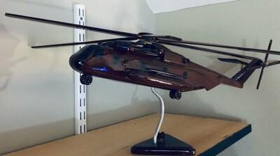 CH-53 Stallion Helicopter Model Desk top