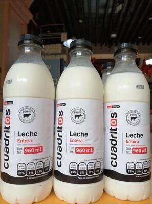 Leche Cuadritos Entra 960 ml