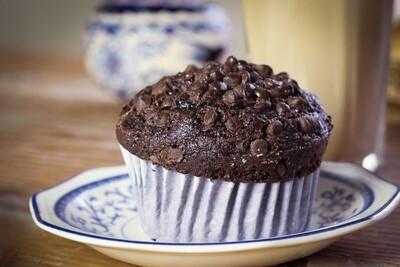 Muffin de chocolate