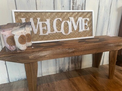 Welcome Sign Indoor