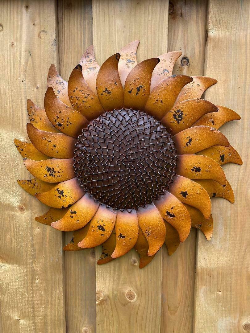 Golden Sunflower Garden Art