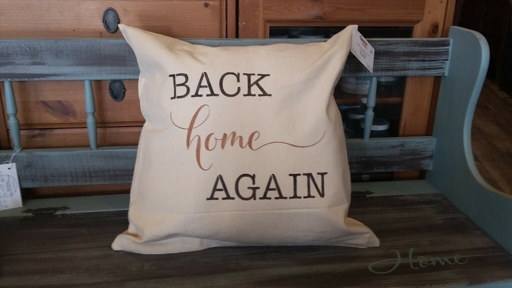 Back Home Again Pillow