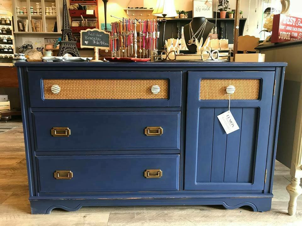Blue Dresser Side Board