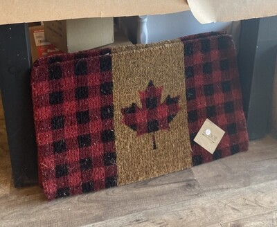 Door Mat - Canada Flag