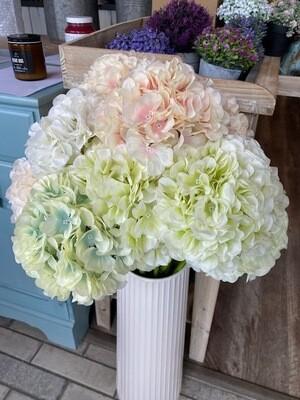 Faux Hydrangea - various colours