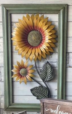Sunflower Garden Art - Large