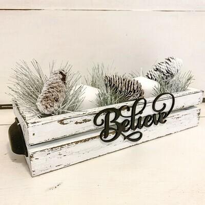 Believe Table Box Workshop - Nov 15