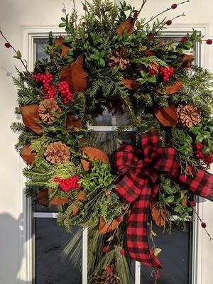 Natural Wreath Workshop - Nov 18