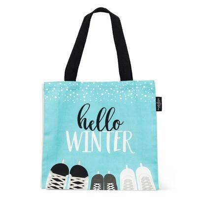 Canvas Tote Bag - Hello Winter
