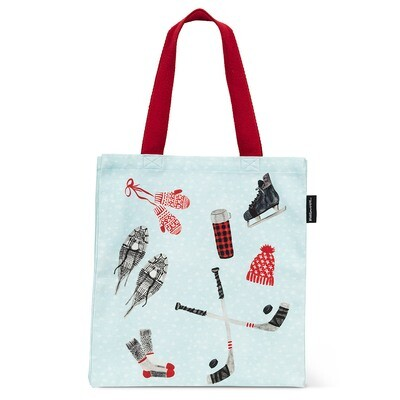 Canvas Tote Bag - Winter Icons