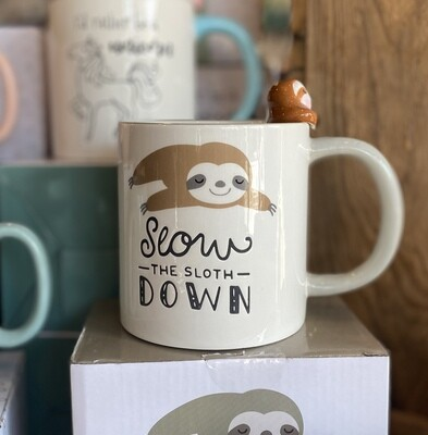 Mug - Slow The Sloth Down