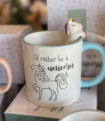 Mug - I'd rather be a unicorn