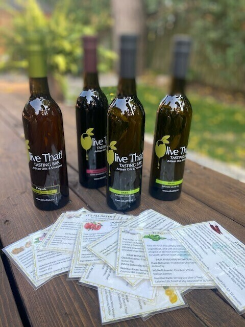 Olive Oil - Persian Lime