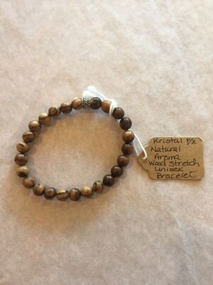 Natural Aroma Wood Stretch Unisex Bracelet (Mixed)