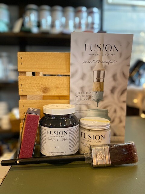 Intro to Furniture Painting with Fusion Virtual Class - March 6