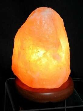 Small Himalayan Salt Crystal Rock Lamp - Electronic
