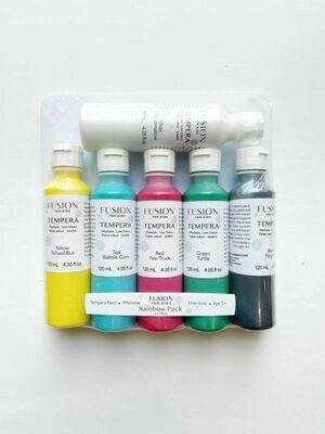 .Fusion for Kids - Tempera Paint - Rainbow Pack