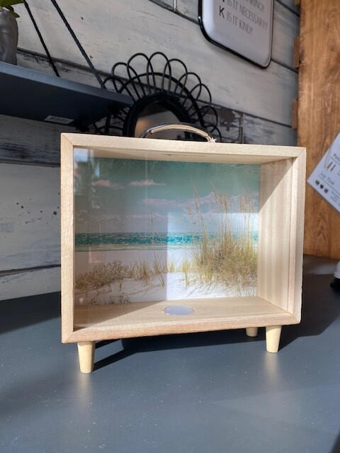Beach Getaway Savings Box