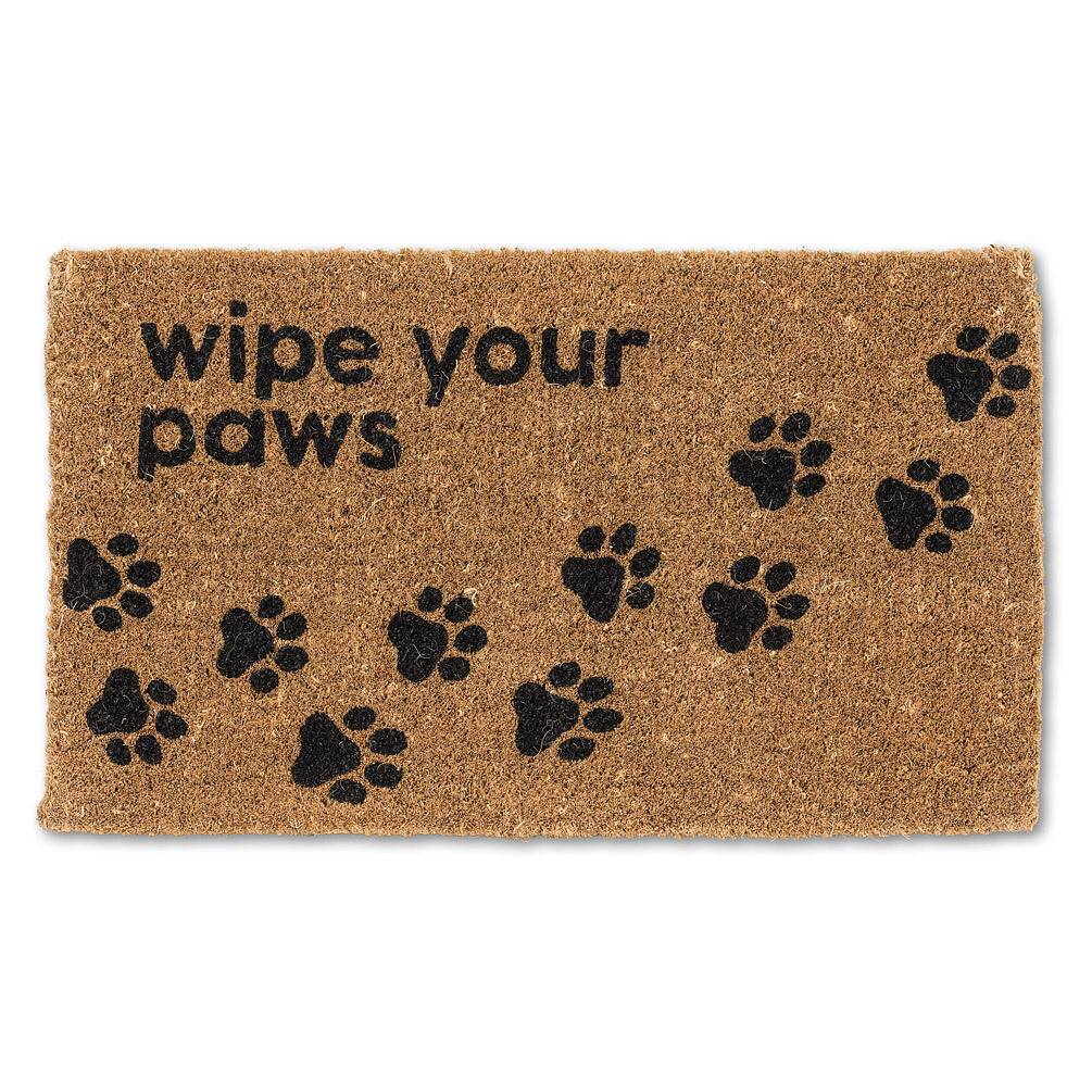 Wipe Your Paws Coir Mat