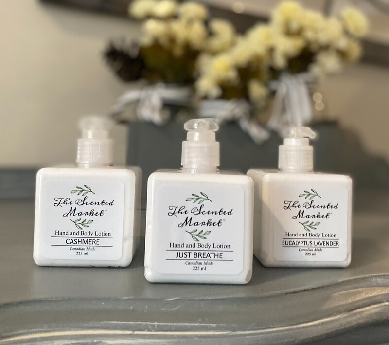 The Scented Market Hand and  Body Lotion