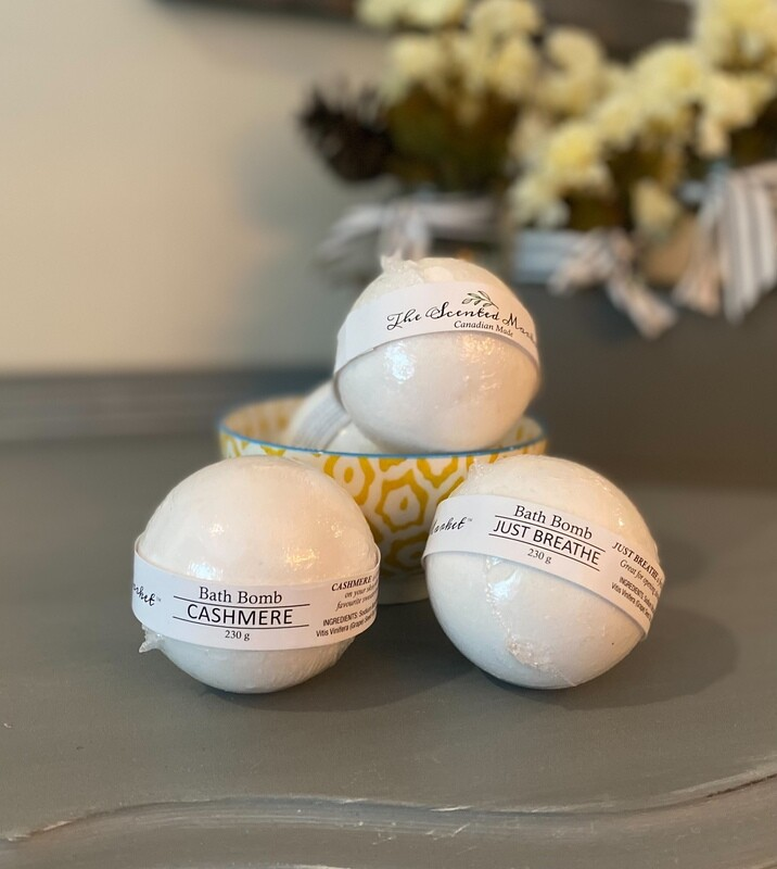 The Scented Market Bath Bombs