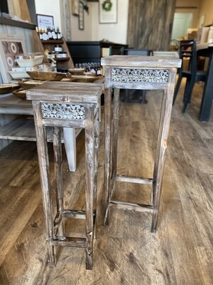 Wooden Flower Stand - Large