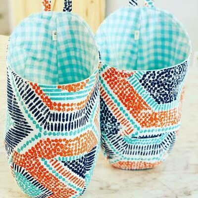 Fabric Hanging Basket