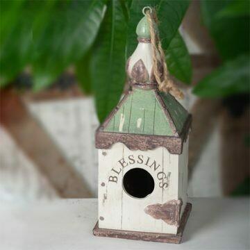 Polyresin Birdhouse