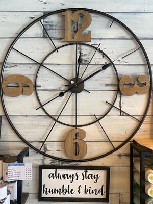 Large Wall Clock - 40