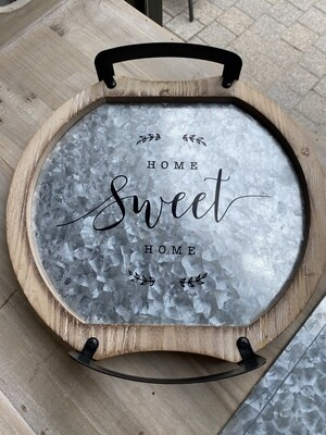 Home sweet home tray