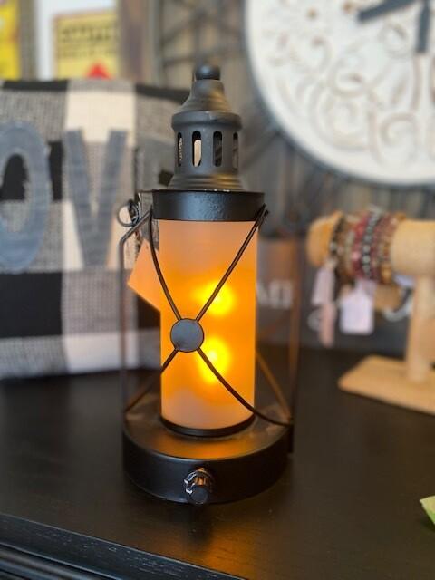 Small Glass LED Lantern