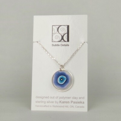 Necklace - Purple and Blue