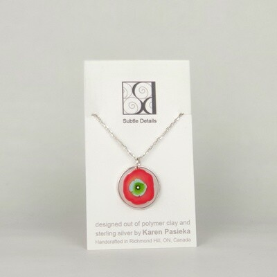 Necklace - Red and Green