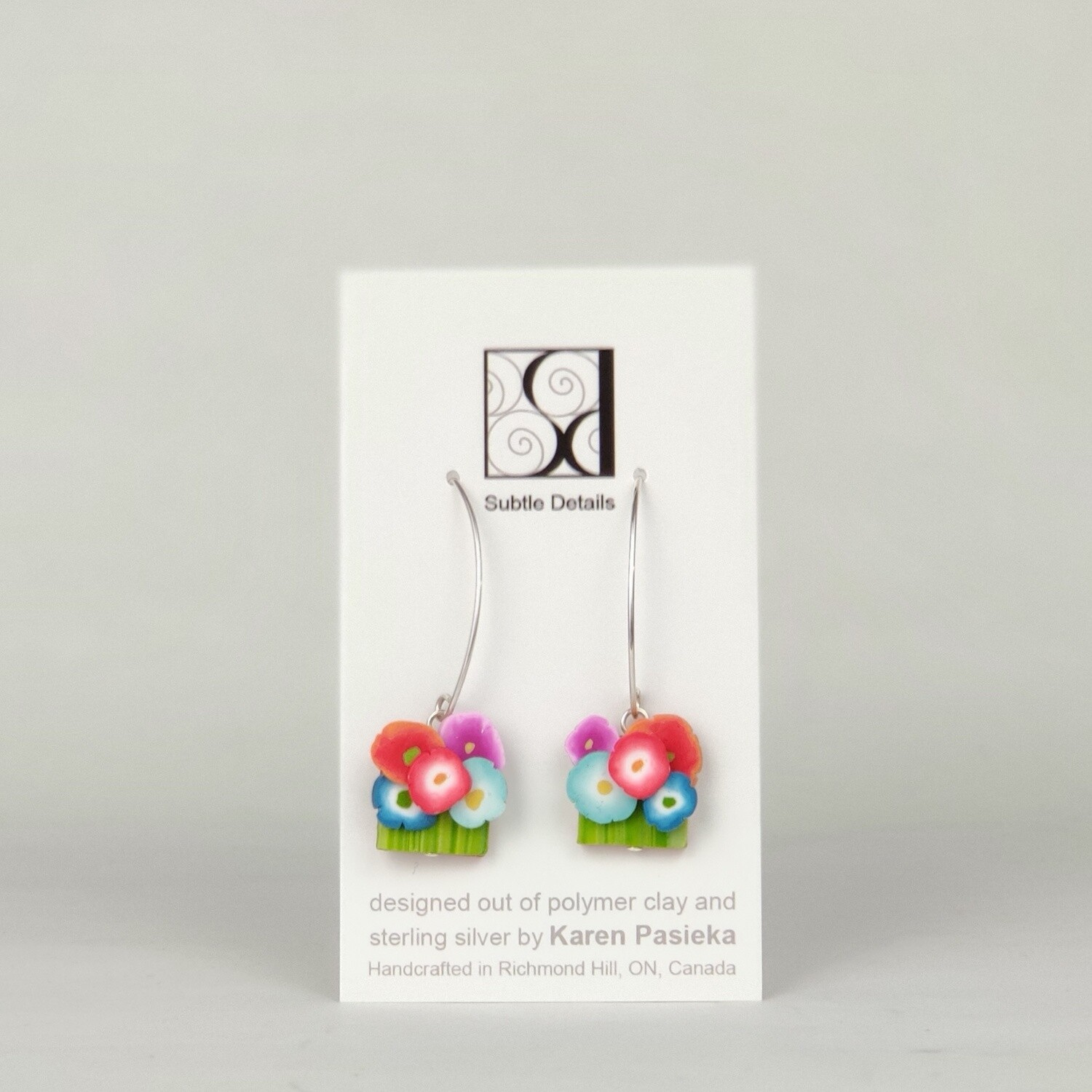 Earrings - Gallery Design Collection - 5 Flowers