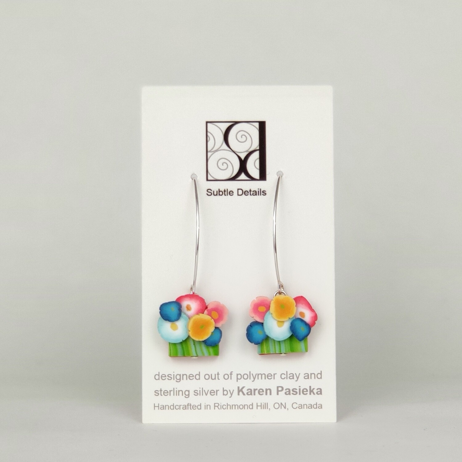 Earrings - Gallery Design Collection - 6 Flowers (#2)