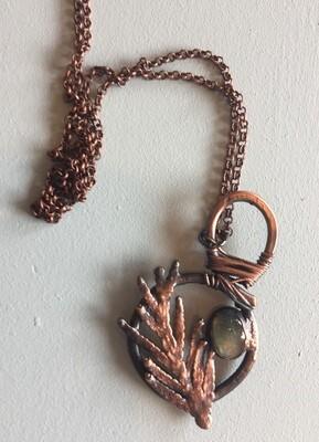 Copperplated Cedarleaf and Labradorite
