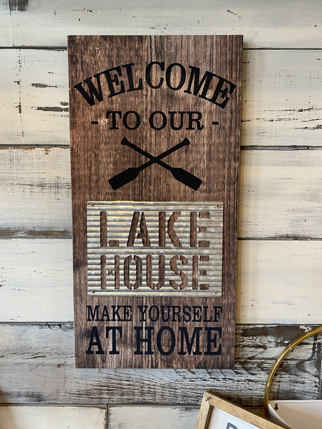 Welcome to our Lake House Make Yourself at Home