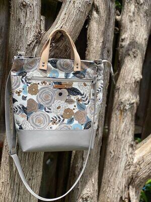 Finley Tote Bag - Flowers