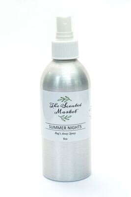 The Scented Market Bug's Away Spray - two sizes