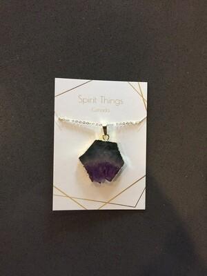 Necklace - Amethyst