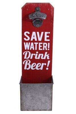 Bottle Opener - Save Water Drink Beer