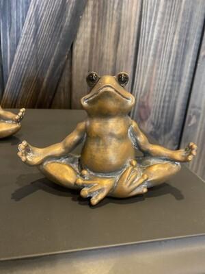 Decorative Frog Statue - sitting