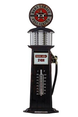 Iron Wall Art Thermometer - Dad's Garage