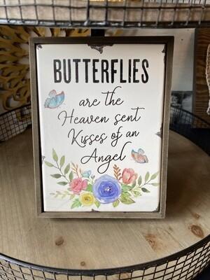 Butterflies - MDF Shelf Block